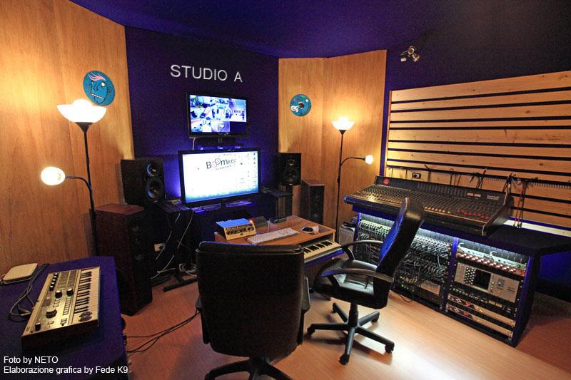 BoomkerSound_Studio di Registrazione_Regia A