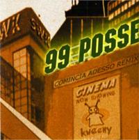 99 Posse_Comincia adesso Remix_cover
