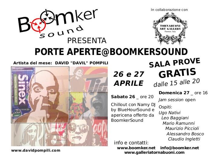 CS_Porte aperte@BoomkerSound_26 e 27-4-2014