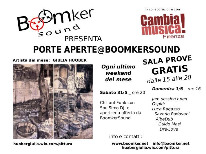 Porte aperte@BoomkerSound_FlyerWeb_31-5 e 1-6-2014